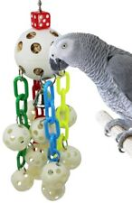 1792 Ball Waterfall Bonka Bird Toys Parrot Cage Toy Cages African Grey Amazon