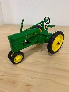 Vintage John Deere Die Cast Metal Tractor Model H 7.5'' Long