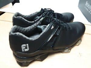 FootJoy Tour X Men's Ortholite Golf Shoes 55405 Black 9 M