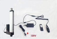 "Linear Actuator+DC 24V Wireless Remote Control Kit+Mount Brackets 4""inch Stroke"