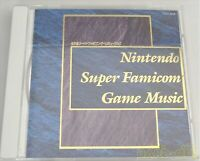 Used Nintendo Super Famicom Game Music CD Pilotwings SimCity F-ZERO Mario Zelda