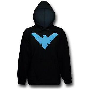 Nightwing Logo Men's Hoodie Black