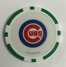 Chicago Cubs Green Chip Poker Casino Wrigley Field