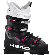 HEAD VECTOR EVO XP W BLACK LADIES SKI BOOTS MOND 245 UK 5.5 NEW #IC02