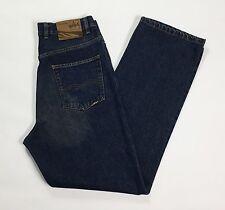 Micmac jeans M W34 L36 48 uomo denim blu boyfriend dritti usato vintage T1305