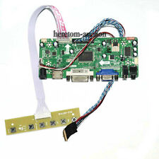 40pin 1600*900 HDMI DVI VGA Audio LCD Controller Board Driver for Ltn173kt01