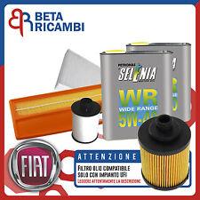 Kit Tagliando Fiat Punto (188) 1.3 Multijet + 4 L Selenia WR 5W40 (IMPIANTO UFI)