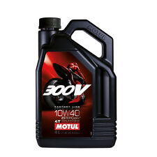 Motul 300V Factory Line Ester Motorcycle Engine Oil - 4 Litres 10W40 Race Spec