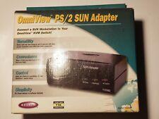 Brand NEW - Belkin OmniView PS/2 Sun Adapter - F1D082