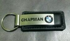 BMW Key Chain Fob Black Leather Chapman Chandler Arizona Keychain