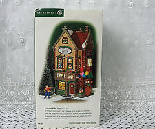 Dept 56 Christmas in the City Series Porcelain Nicholas & Co.Toys Vintage 2001