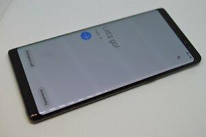 Samsung Galaxy Note 8 SM-N950U 64GB Black (Unlocked) GSM CDMA #L643