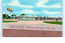 California Postcard The Californian Motel Heated Pool Hwy 80 El Cajon CA Unused