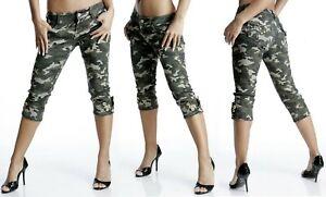 Camouflage Broek Size 34