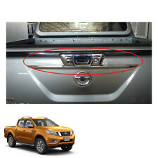 Tail Gate Tailgate Handle Cover Chrome Nissan NP300 Navara Frontier fit 15 16 17