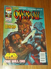 OVERKILL #42 MARVEL BRITISH MAGAZINE 19 NOVEMBER 1993 DEATHS HEAD II (B)^