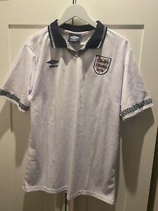 England Umbro 1990 Gazza 19 Shirt XL
