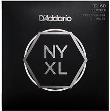 D'addario nyxl1260 le corde per chitarra elettrica Extra Heavy 12-60 - ULTIMO MODELLO