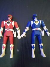 Power Rangers Heroes series 3 Blue and Red loose