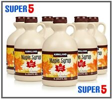 Kirkland Signature Pure Maple Syrup 1ltr | Grade A | 100% Pure | Pouring Jug
