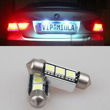 2x Error free LED License Plate Light bulb For BMW E46 E90 E92 E93 M3 coupe