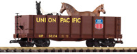 Piko Union Pacific High Side Gondola With Horses 38725 G Scale Trains