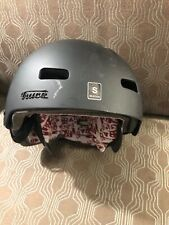 RED by Burton Trace Audex Audio Snow Helmet (Small Size, 55cm to 57cm)