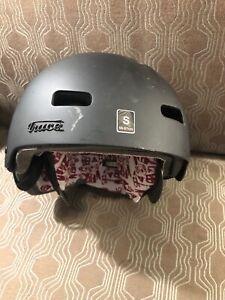 RED by Burton Trace Audex Audio Snow Helmet (Small Size, 55cm to 57cm)