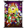 "Hot Japan Anime Super Mario Bros Home Decor Poster Wall Scroll 8""x12"" PP321"
