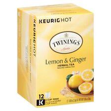 Twinings of London Lemon & Ginger Herbal Tea Keurig K-Cups