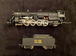 New One HO Steam Locomotive Chesapeake&Ohio 133