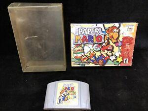 Paper Mario 64 (Nintendo 64, N64) -- Authentic Game Cart --