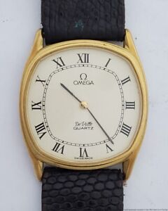 Vintage Omega DeVille Unisex 1365 Watch With Original Buckle