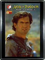 ARMY OF DARKNESS: ASHES 2 ASHES #1 (PHOTO VAR.) w/FRAME ~ Home Decor Comic Art