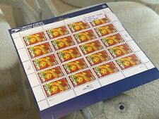 USPS Sealed 1999 Sheet 20 HAPPY NEW YEAR STAMPS 33 Cent MNH YEAR OF THE DRAGON
