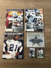 Dallas Cowboys NFL Sports Illustrated Magazines Set Of Three With Sticker