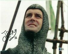 JOHN CLEESE AUTOGRAPHED MONTY PYTHON & THE HOLY GRAIL PHOTO SIGNED w/ BAS COA