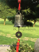 Metal Bells Wind Chime Outdoor Garden Hanging Charm Decor Feng Shui Ornament New