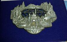 Disney WDI D23 Expo Disneyland 60th Diamond Anniversary Stained Glass Jumbo Pin