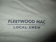 Fleetwood Mac Crew Concert Tour (Xl) Shirt Stevie Nicks Mick Lindsey Buckingham