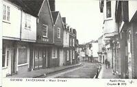 Kent Postcard - Faversham - West Street   A3914
