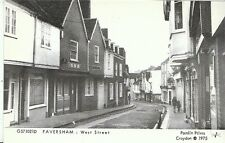 Kent Postcard - Faversham - West Street   A3914