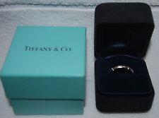 Tiffany & Co. 18KT White Gold Streamerica Diamond Eternity Wedding Band / Ring