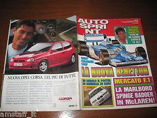 AUTOSPRINT 1993/44=MICHAEL ANDRETTI=PROVA PEUGEOT 306=MAURO NESTI RE MONTAGNA