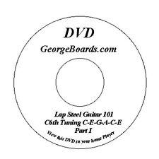 Lap Steel Guitar Instruction DVD Beginner Combo Lesson 3 DVD set plus 2 audio cd