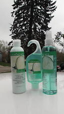 AVON NATURALS CUCUMBER MELON BODY MIST-SHOWER GEL--BODY LOTION-NEW SET OF THREE