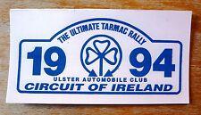 1994 Circuit of Ireland Rally Motorsport Sticker Decal
