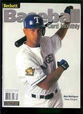 March 2001 Beckett Baseball Issue #192 Alex Rodriguez
