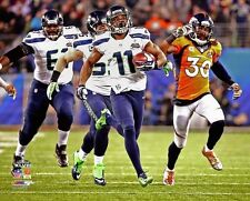 2014 Super Bowl XLVIII PERCY HARVIN Return TOUCHDOWN Seattle Seahawks 8x10 photo