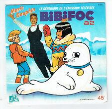 BIBIFOC Vinyle 45T LA CHANSON DE BIBIFOC -ADES 11110 Serie Télévision Télé TV A2